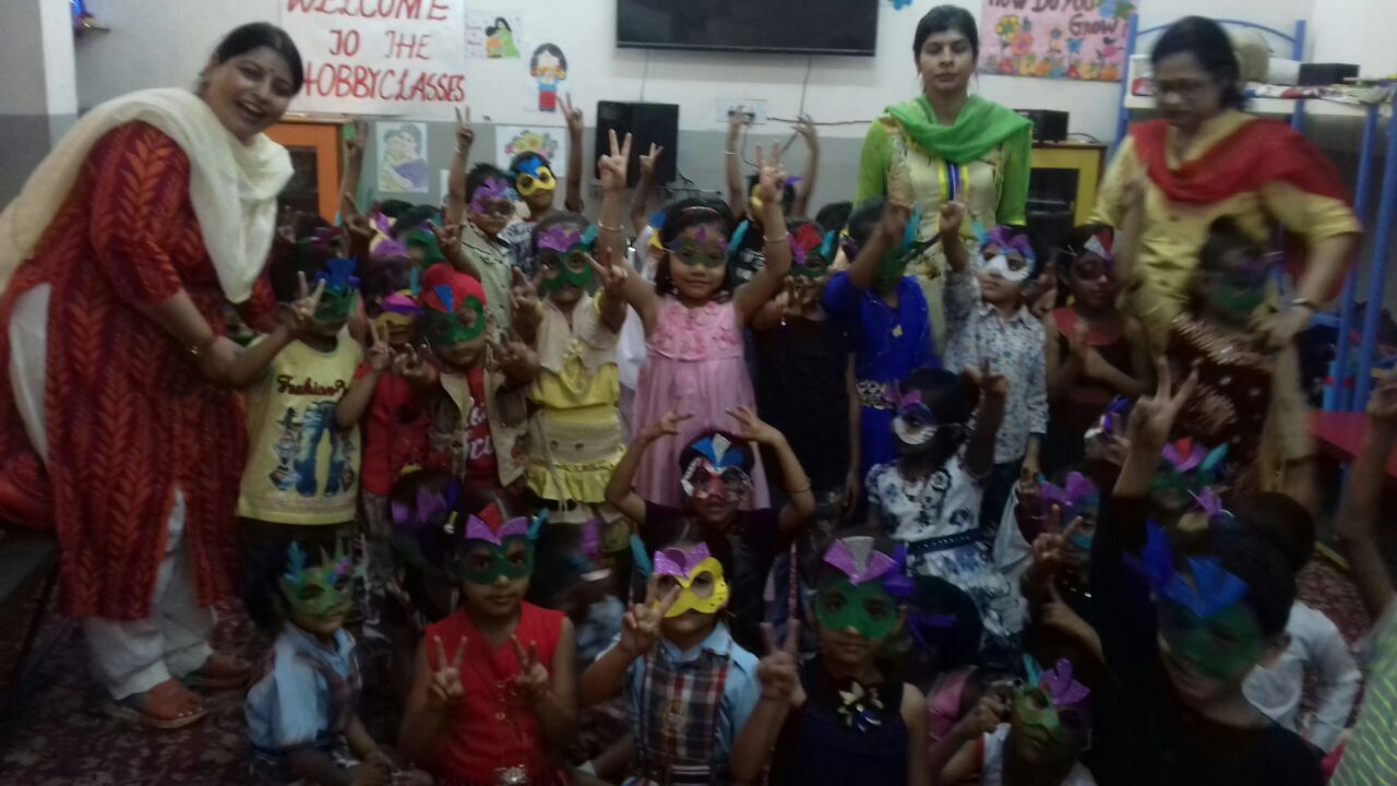 Summer Camp For Nursery Class